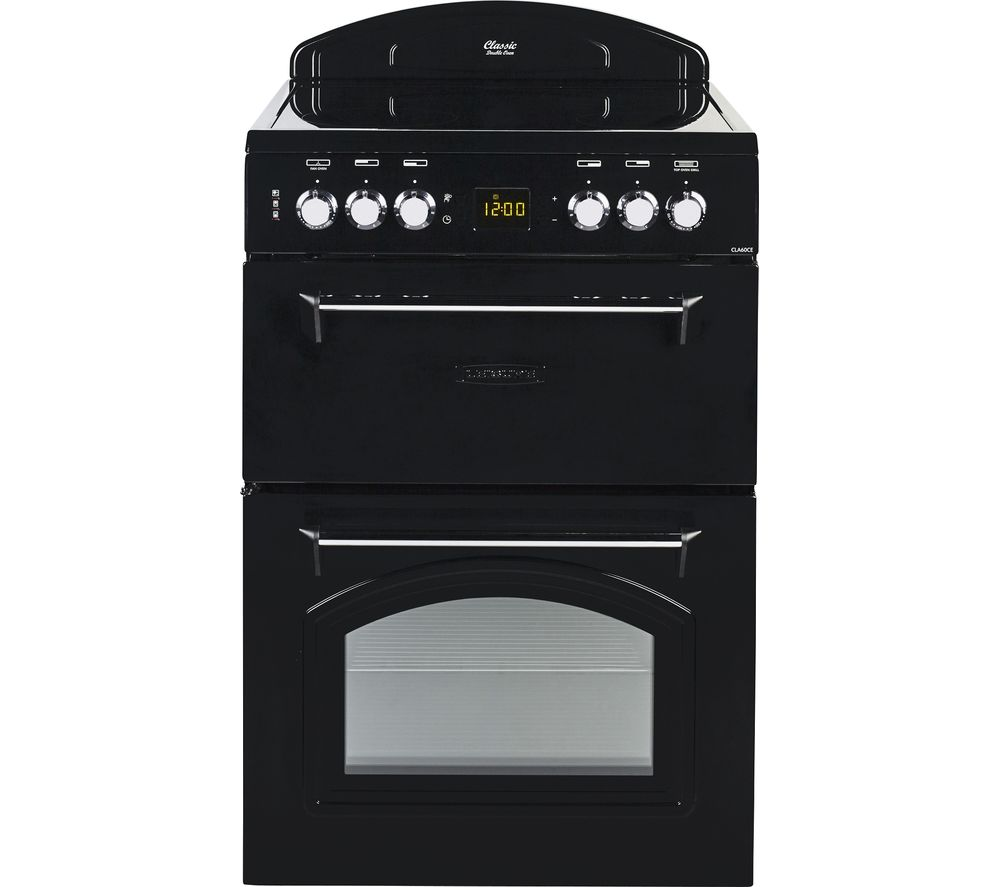 LEISURE CLA60CEK 60 cm Electric Ceramic Cooker - Black, Black