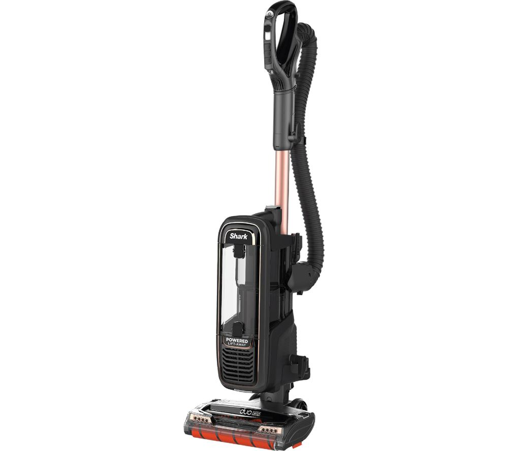 Shark DuoClean Powered Lift-Away AX950UKT Upright Bagless Vacuum Cleaner - Rose & Grey, Grey