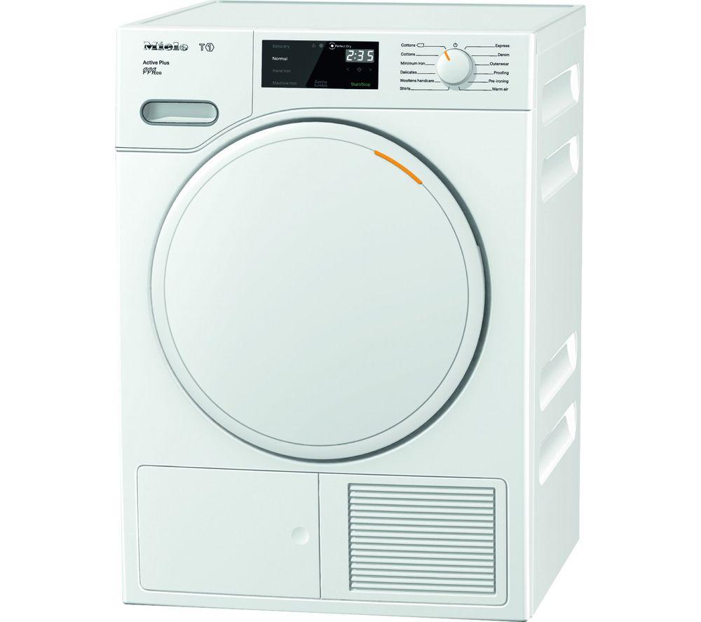 MIELE Active Plus TWE520WP 8 kg Heat Pump Tumble Dryer - White