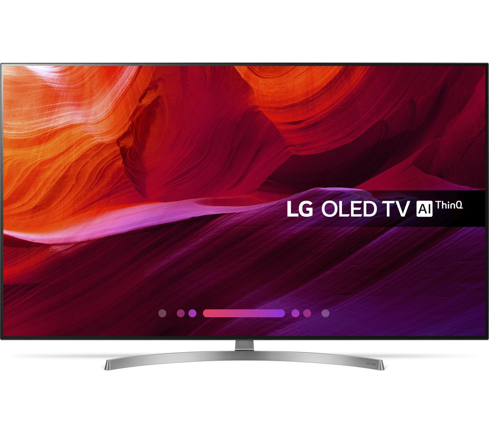 "Image of 55"" LG OLED55B8SLC Smart 4K Ultra HD HDR OLED TV, Black"