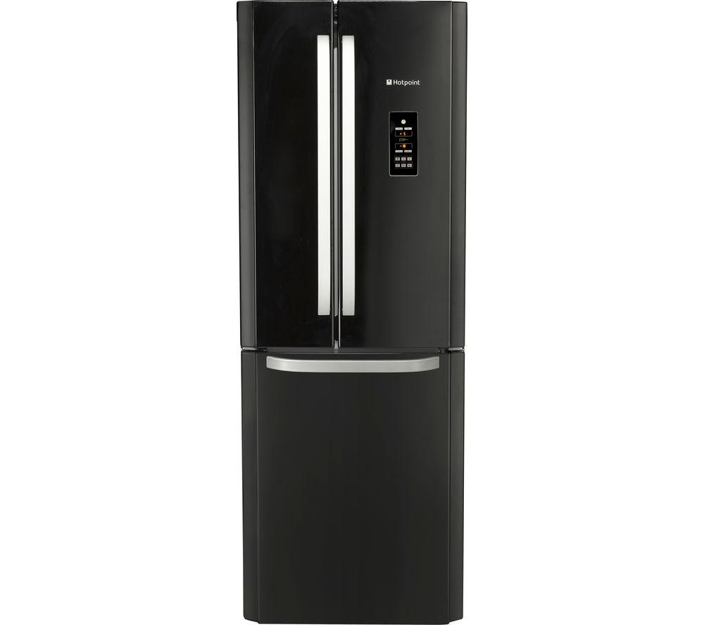 HOTPOINT FFU3DG.1K Fridge Freezer - Black