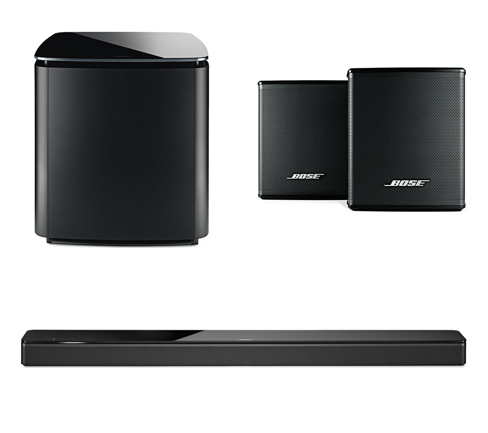BOSE Soundbar 700, Bass Module 700 & Surround Speakers Bundle