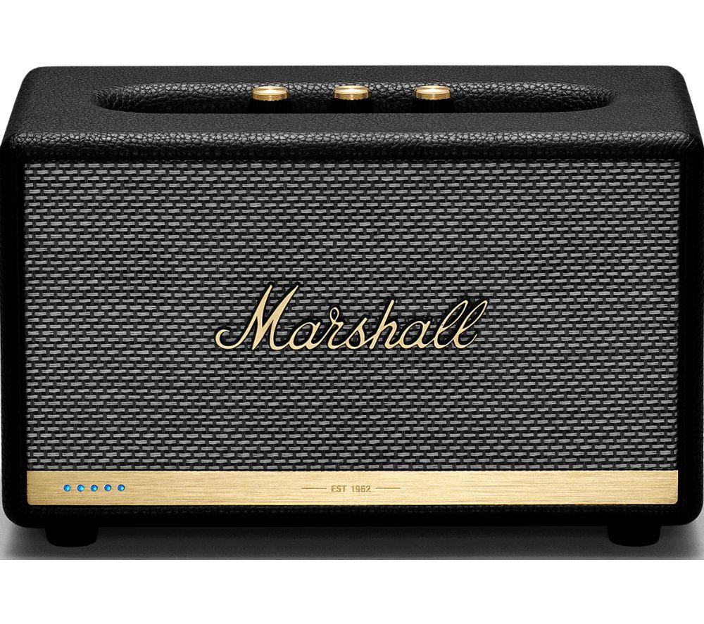 MARSHALL Acton II Wireless Voice Controlled Speaker - Black