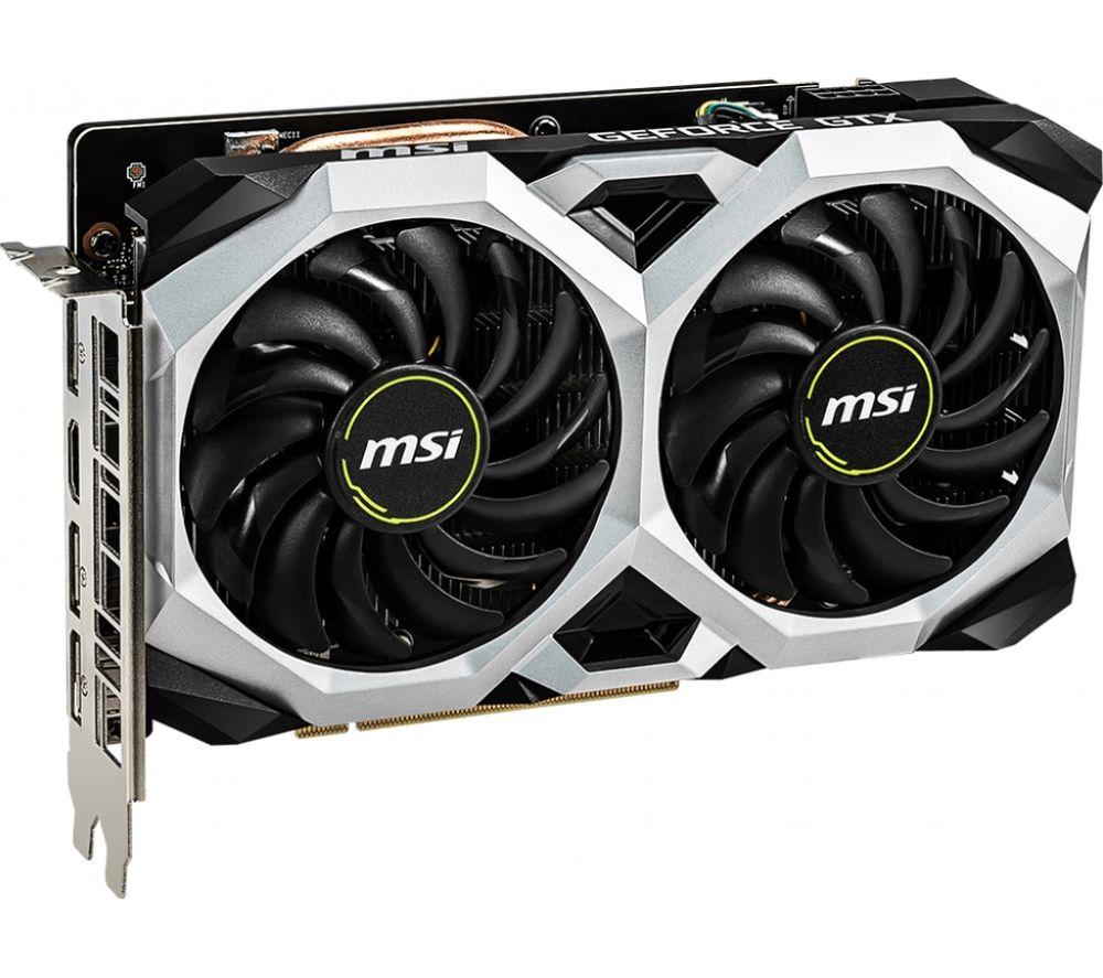 MSI GeForce GTX 1660 Ti 6 GB VENTUS XS OC Graphics Card