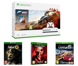 MICROSOFT Xbox One S, Forza Horizon 4, Project Cars 2, Tekken 7, Fallout 76 & Apex Legends Bundle