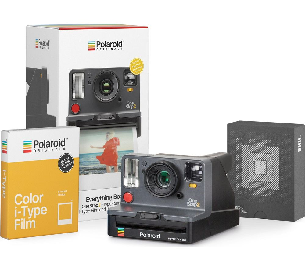 POLAROID OneStep 2 Viewfinder Instant Camera Everything Box - Graphite