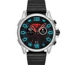 Full Guard 2.5 DZT2008 Smartwatch - Black, Leather Strap