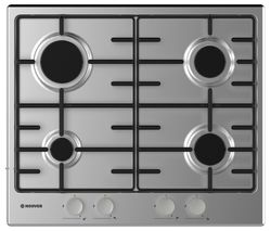 HOOVER HHW6BRMX Gas Hob - Stainless Steel