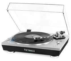 VPRO-2000 Belt Drive Bluetooth Turntable - Silver