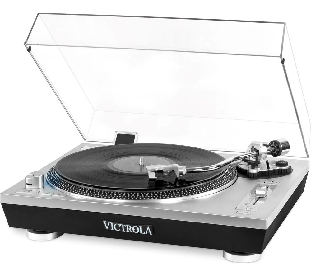 Image of VPRO-2000 Belt Drive Bluetooth Turntable - Silver, Silver