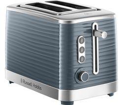 Inspire 24373 2-Slice Toaster - Grey