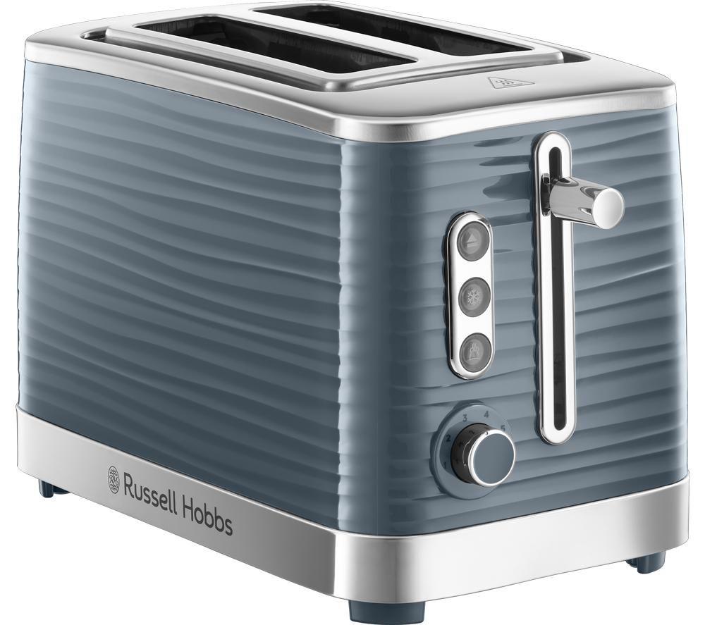 Inspire 24373 2-Slice Toaster - Grey, Grey