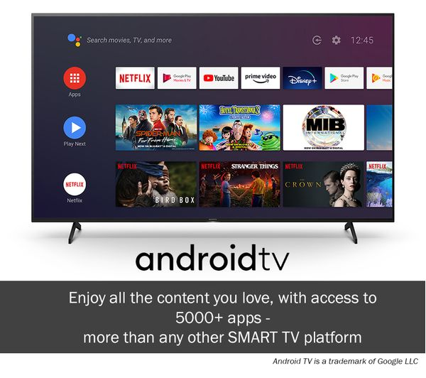 """Buy SONY BRAVIA KD75XH8096BU 75"""" Smart 4K Ultra HD HDR LED TV with Google  Assistant 