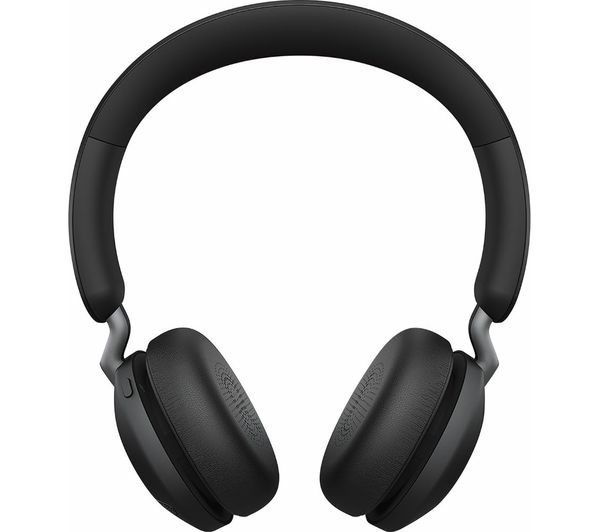 Image of JABRA Elite 45h Wireless Bluetooth Headphones - Titanium Black