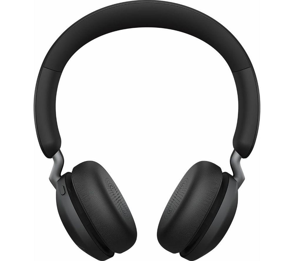 Image of JABRA 45h Wireless Bluetooth Headphones - Titanium Black, Titanium