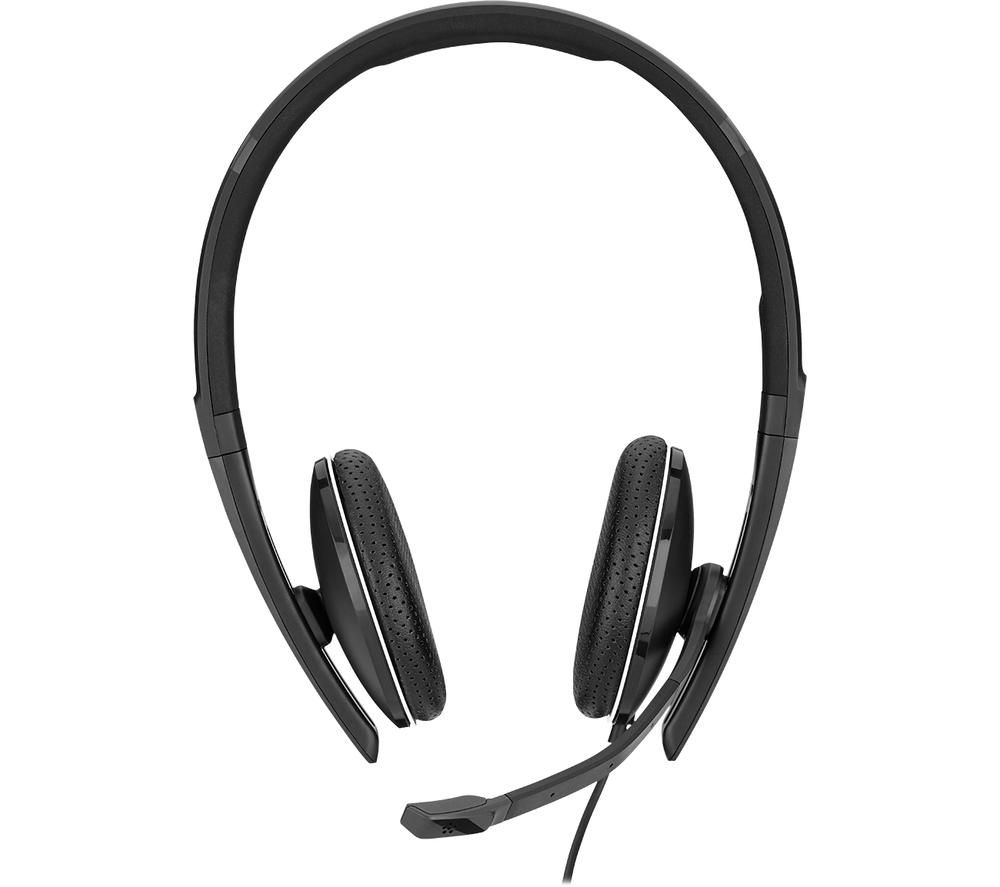 Image of SENNHEISER Adapt SC 165 Headset - Black, Black