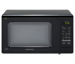 DAEWOO KOR6M1RDBK Solo Microwave - Black Best Price, Cheapest Prices