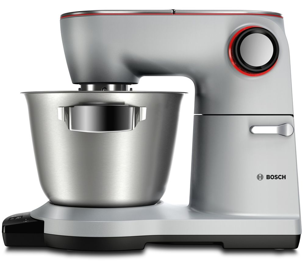 Image of BOSCH OptiMUM MUM9GT4S00 Stand Mixer - Platinum Silver, Silver