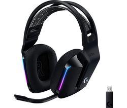 G733 LIGHTSPEED Wireless Gaming Headset - Black