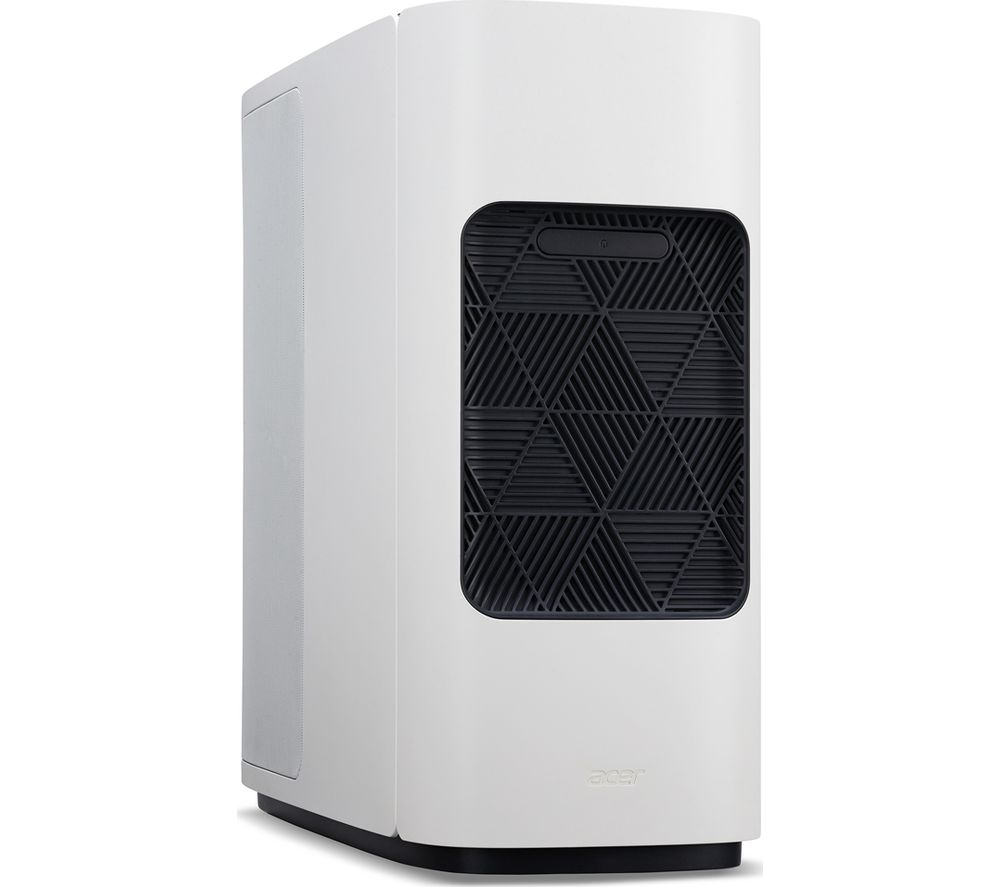 Image of ACER ConceptD CT500-51A Desktop PC - Intel®Core™ i9, 1 TB HDD & 1 TB SSD, White, White