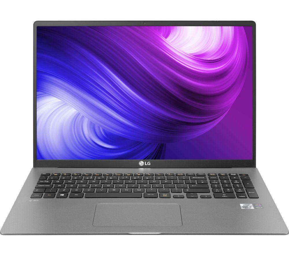 "LG GRAM 17Z90N 17"" Laptop - Intel® Core™ i7, 512 GB SSD, Silver"