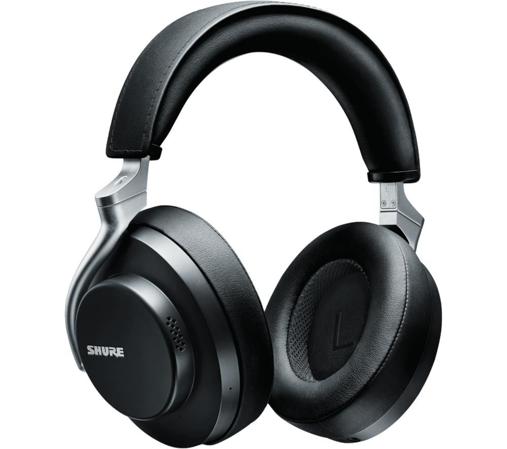 SHURE Aonic 50 SBH2350-BK-EFS Wireless Bluetooth Noise-Cancelling Headphones - Black
