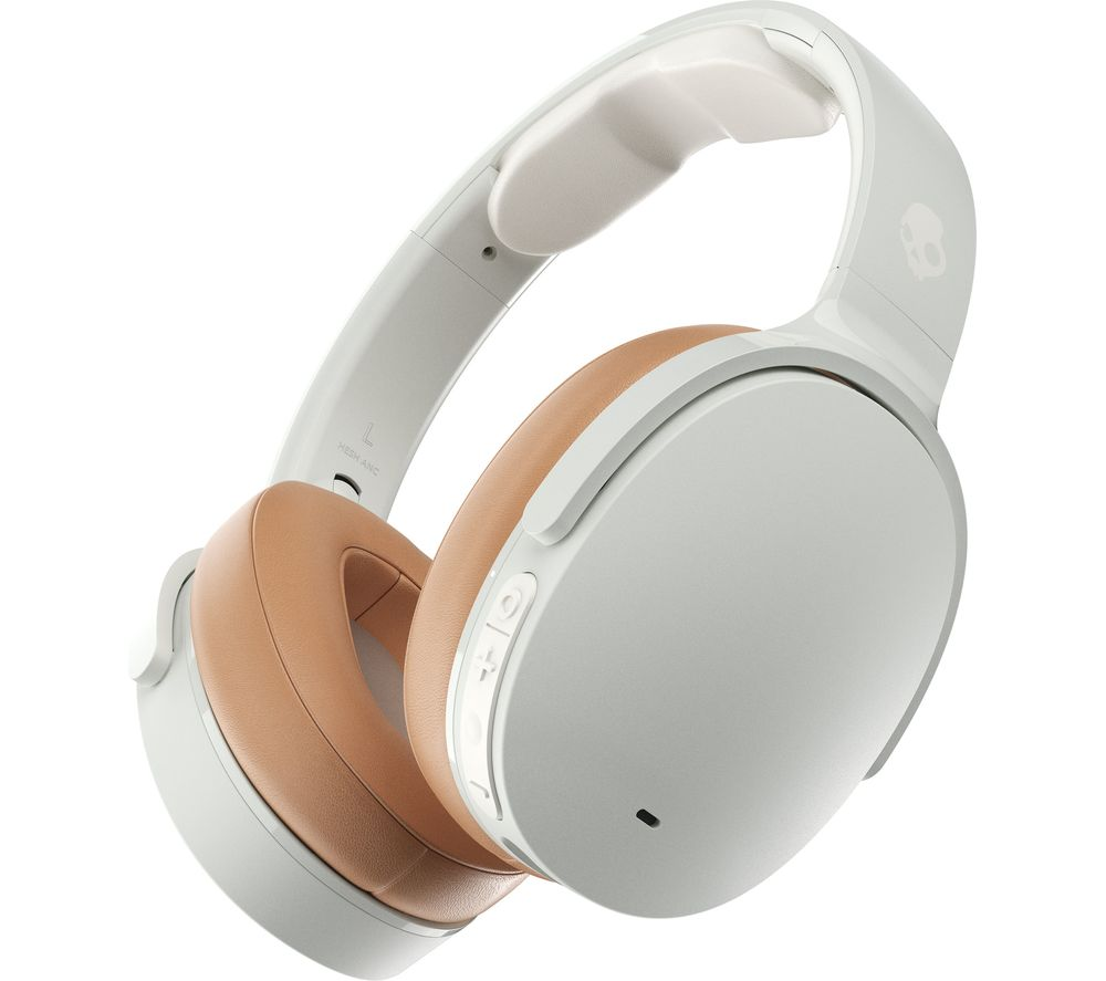 SKULLCANDY Hesh ANC Wireless Bluetooth Noise-Cancelling Headphones - White, White