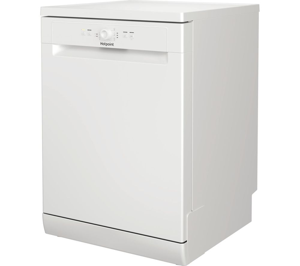 HOTPOINT HFE 1B19 UK Full-size Dishwasher - White