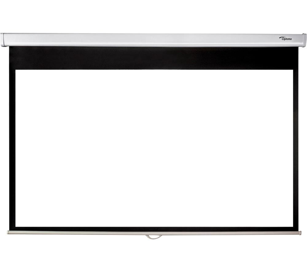 """OPTOMA DS-9092PWC 92"""" Pull Down Projector Screen"""