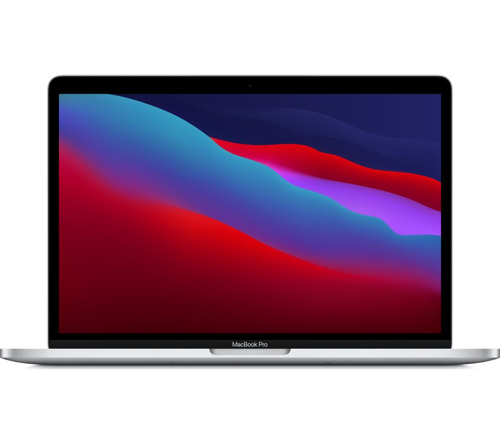 APPLE 13 MacBook Pro with Touch Bar (2020) - 256 GB SSD, Silver, Silver