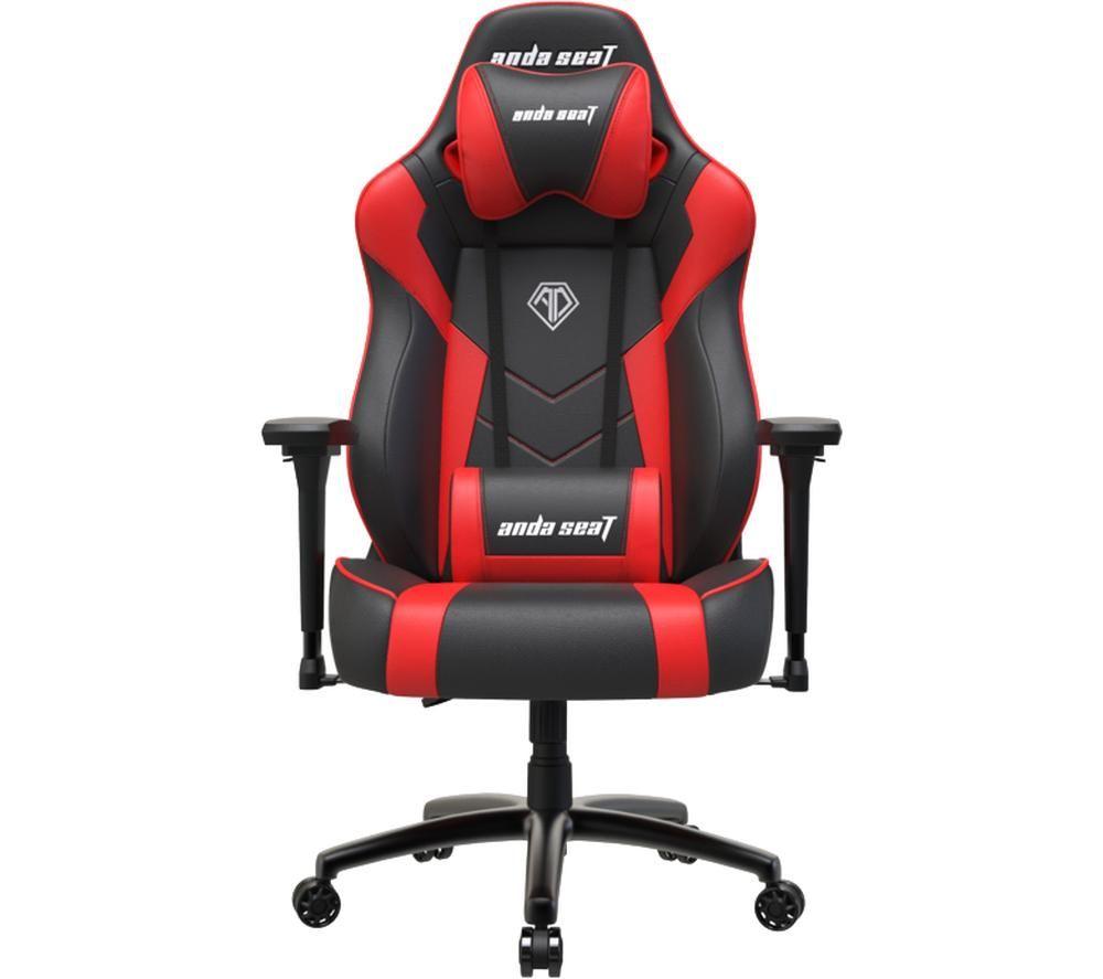 ANDASEAT Dark Demon Series Gaming Chair - Black & Red