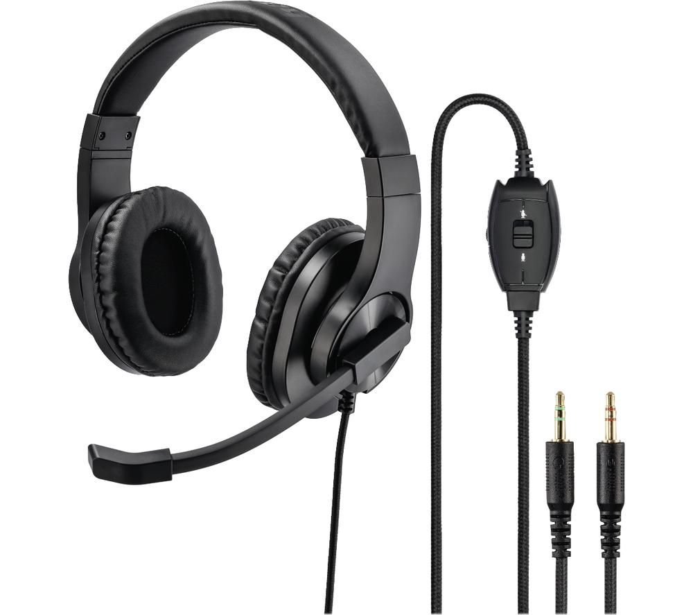 Image of HAMA HS-P300 Headset - Black, Black