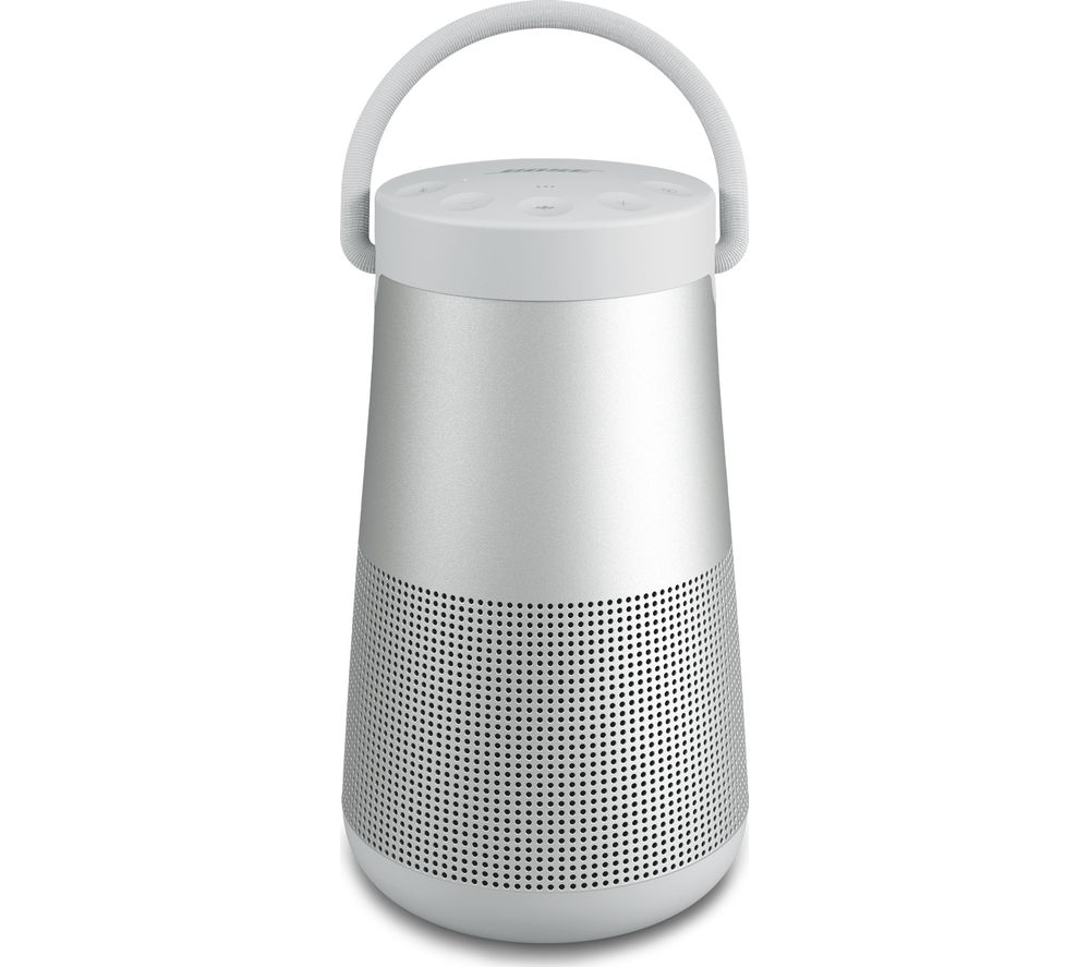 BOSE SoundLink Revolve II Portable Bluetooth Speaker - Luxe Silver, Silver