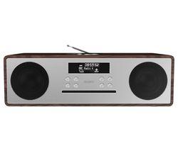 OAK-CDAB-WAL Oakington DAB+/FM Smart Bluetooth Radio - Walnut