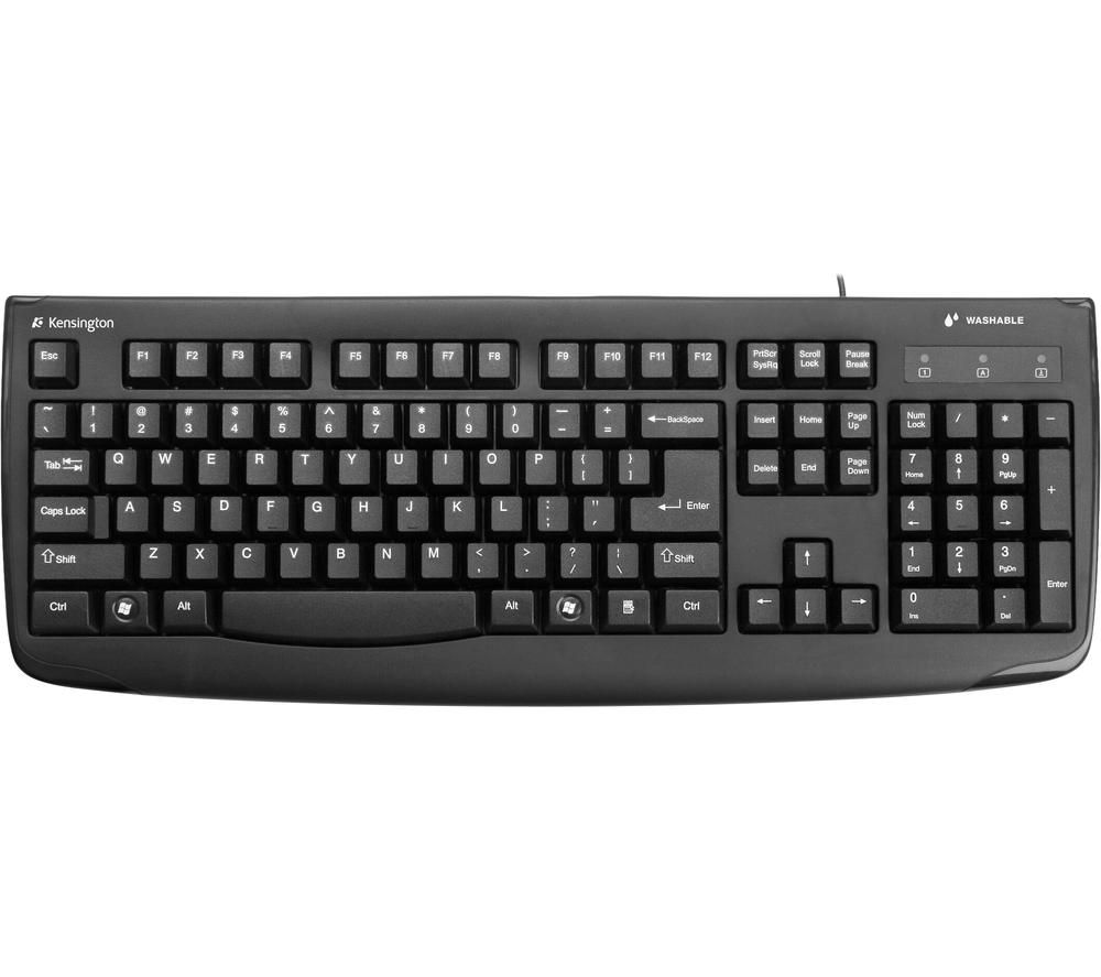 Image of KENSINGTON Pro Fit Washable K64407UK Keyboard