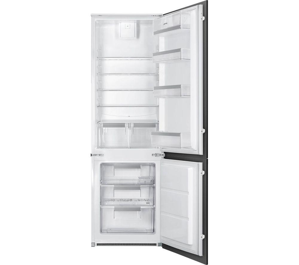 SMEG UKC81721F Integrated 70/30 Fridge Freezer - Sliding Hinge