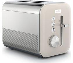 High Gloss VTT967 2-Slice Toaster - Cream