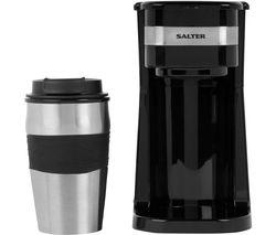 EK2408 Filter Coffee Machine - Black & Silver