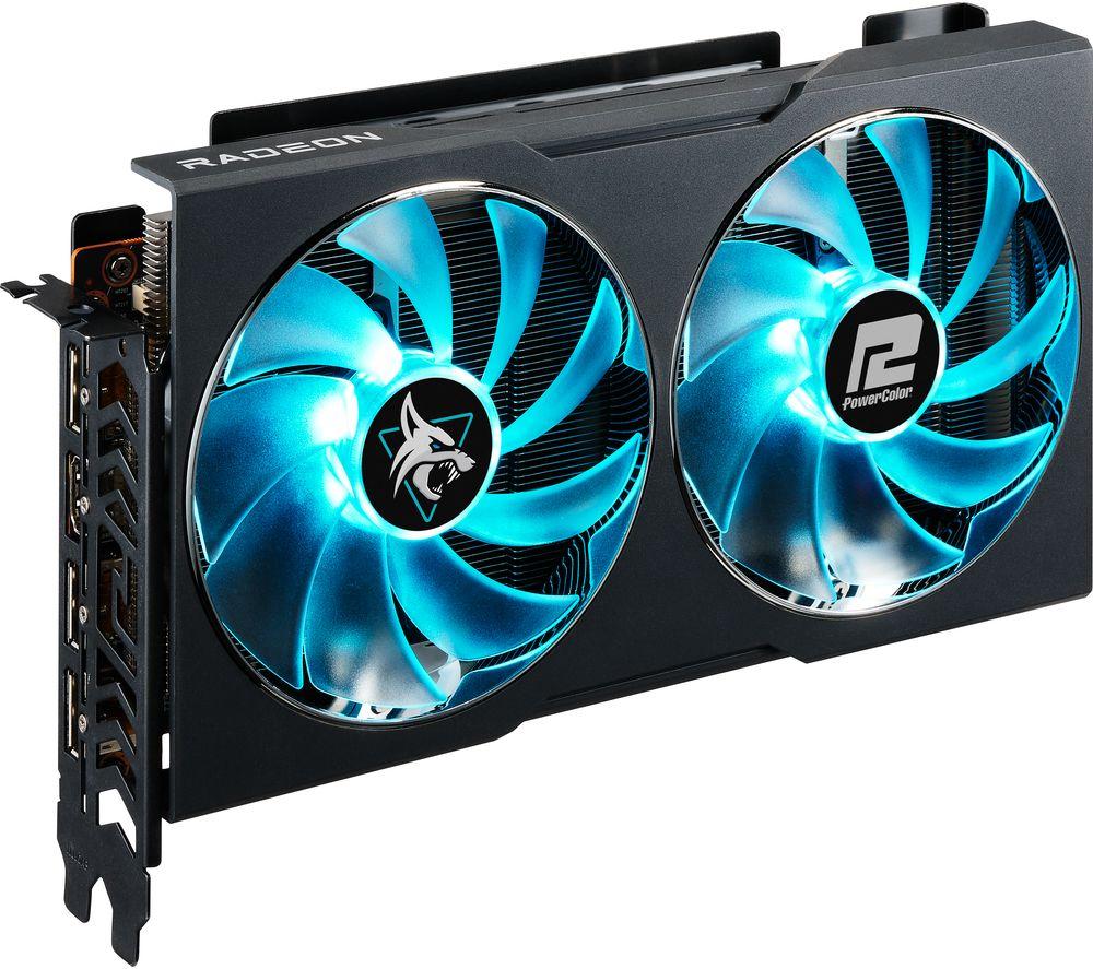 Image of POWERCOLOR Radeon RX 6600 8 GB Hellhound Graphics Card