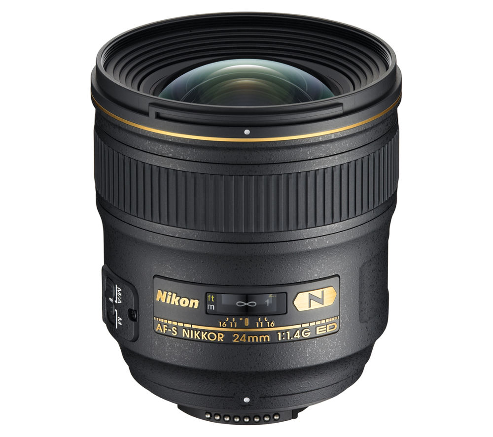 NIKON AF-S NIKKOR 24 mm f/1.4G ED Wide-angle Prime Lens