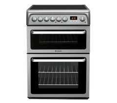 HOTPOINT HAE60GS Electric Ceramic Cooker - Graphite Best Price, Cheapest Prices