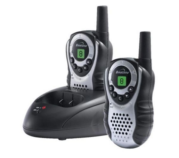 BINATONE Latitude 150 Twin Walkie Talkie - Black & Silver