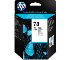 HP 78 Tri-colour Ink Cartridge