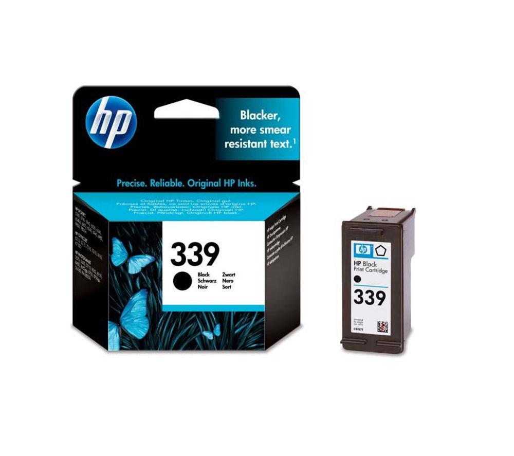 HP 339 Black Ink Cartridge