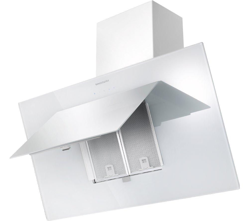 RANGEMASTER Opal 100 Chimney Cooker Hood - White