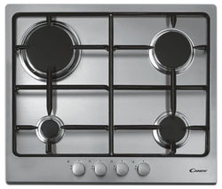 CANDY CPG64SPX Gas Hob - Stainless steel
