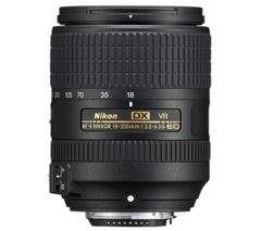 AF-S DX NIKKOR 18-300 mm f/3.5-6.3G ED VR Telephoto Zoom Lens
