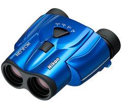 NIKON Aculon T11 8-24 x 25 Porro Prism Binoculars - Blue