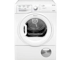 HOTPOINT Aquarius TCFS93BGP Condenser Tumble Dryer - White