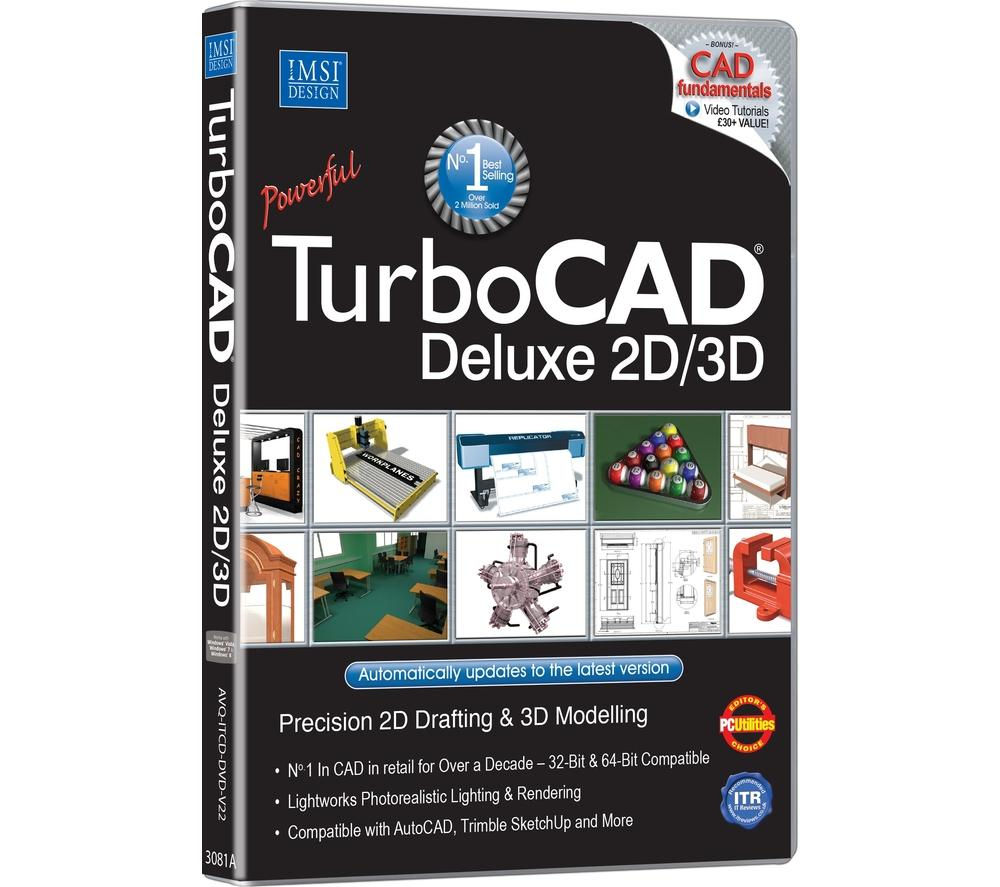 AVANQUEST TurboCAD Deluxe